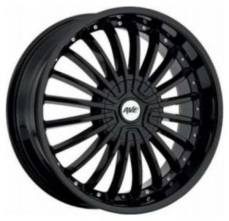 AVENUE WHEELS  A602 BLACK RIM