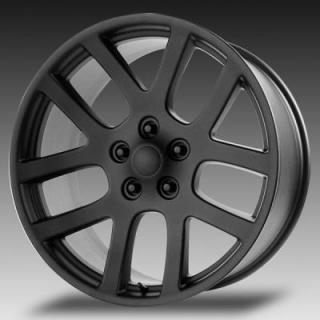WHEEL REPLICAS WHEELS  V1136 VIPER SRT10 MATTE BLACK RIM