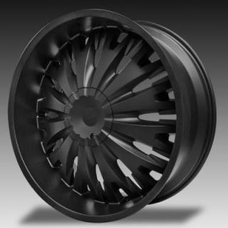 TITANIO MATTE BLACK RIM from VERDE WHEELS - EARLY BLACK FRIDAY SPECIALS!