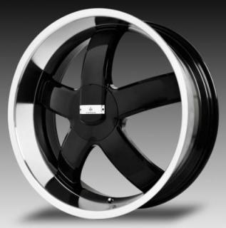 VERDE WHEELS  SKYLON GLOSS BLACK RIM with MACHINED LIP