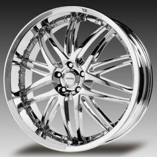 VERDE WHEELS  KAOS CHROME RIM