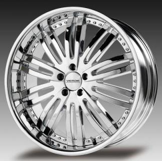 VERDE WHEELS  MADONNA CHROME RIM