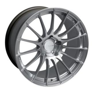ENKEI WHEELS  RS05RR SPARKLE SILVER WHEEL