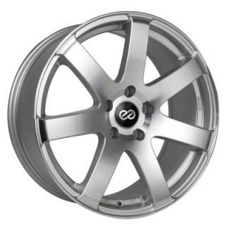 ENKEI WHEELS  BR7 SILVER MACHINED