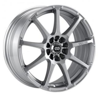 ENKEI WHEELS  EDR9 SILVER WHEEL