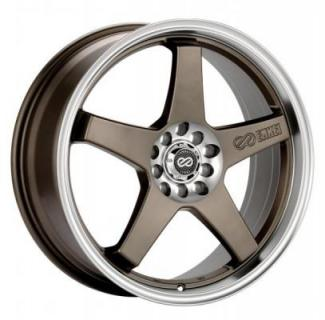 ENKEI WHEELS  EV5 BRONZE WHEEL MACHINE LIP