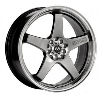 ENKEI WHEELS  EV5 HYPERBLACK WHEEL MACHINE LIP
