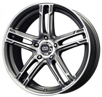 ENKEI WHEELS  FD-05 GUNMETAL MACHINED WHEEL
