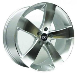 ENKEI WHEELS  GP5 SILVER MACHINED WHEEL