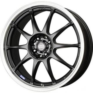 J10 MATTE BLACK WHEEL WITH MACHINED LIP from ENKEI WHEELS