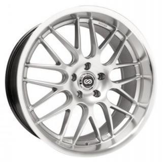 ENKEI WHEELS  LUSSO HYPER SILVER WHEEL