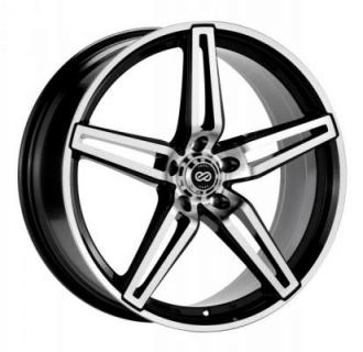 ENKEI WHEELS  RAZR BLACK MACHINE WHEEL
