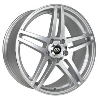 ENKEI WHEELS  RSF5 SILVER MACHINED