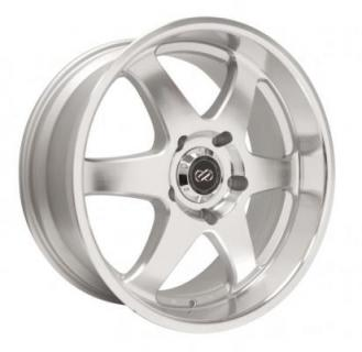 ENKEI WHEELS  ST6 SILVER MACHINED WHEEL