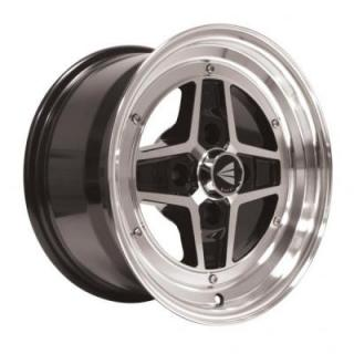 ENKEI WHEELS  APACHE II BLACK WHEEL