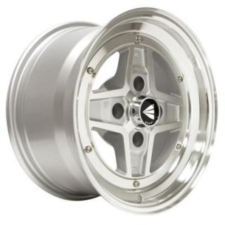 ENKEI WHEELS  APACHE II SILVER WHEEL