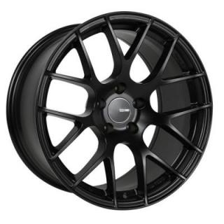ENKEI WHEELS  RAIJIN MATTE BLACK WHEEL