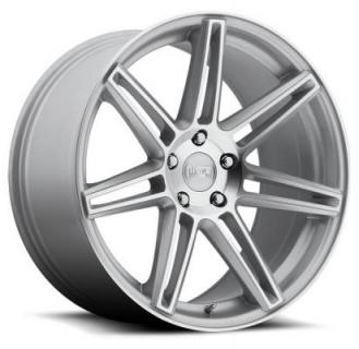 NICHE WHEELS  LUCERNE M142 SILVER MACHINED RIM