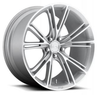 NICHE WHEELS  RITZ M143 SILVER MACHINED RIM
