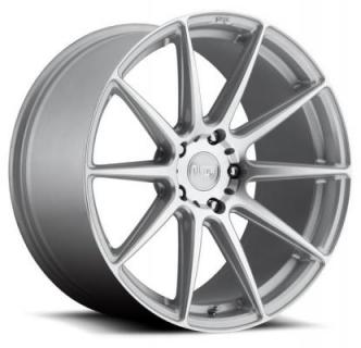 NICHE WHEELS  ESSEN M146 SILVER MACHINED