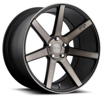 NICHE WHEELS  VERONA M150 BLACK MACHINED RIM