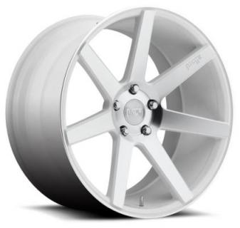 NICHE WHEELS  VERONA M151 WHITE MACHINED RIM