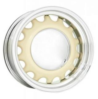 HRH STEEL WHEELS  ARTILLERY BARE CENTER RIM with CHROME OUTER