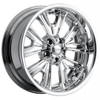 FISHTAIL F205 POLISHED RIM by FOOSE CUSTOM SHOP