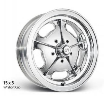 ET WHEELS  VALUE LINE DRAGMASTER POLISHED