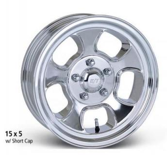 ET WHEELS  VALUE LINE FIVE WINDOW POLISHED RIM