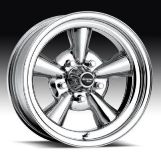 U.S. WHEEL  CLASSIC SUPREME 048 CHROME  RIM
