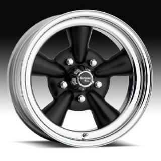 U.S. WHEEL  CLASSIC SUPREME 483 BLACK RIM