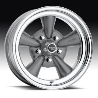 CLASSIC SUPREME 484 GUNMETAL RIM by U.S. WHEEL