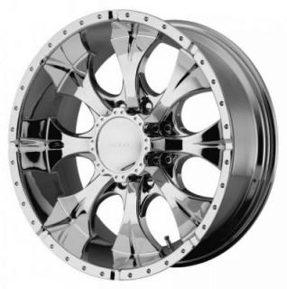 HELO WHEELS  HE791 CHROME 8 LUG RIM