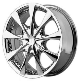 HELO WHEELS  HE827 CHROME RIM