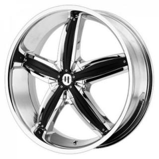 HELO WHEELS  HE844 CHROME RIM