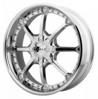 HELO WHEELS  HE871 CHROME RIM