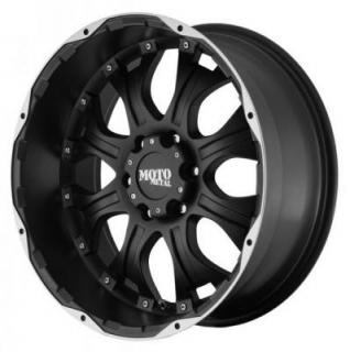 MOTO METAL WHEELS  MO959 MATTE BLACK MACHINED RIM