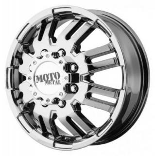 MOTO METAL WHEELS  MO963 DUALLY BRIGHT PVD FRONT RIM