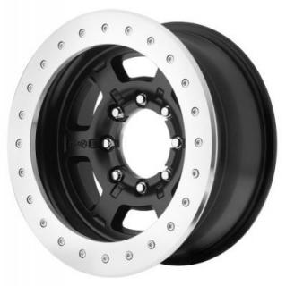 AX757 CHAMBER PRO II BEADLOCK BLACK RIM by ATX SERIES WHEELS