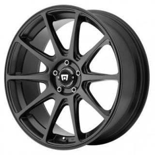 MR127 SATIN BLACK RIM from MOTEGI RACING WHEELS