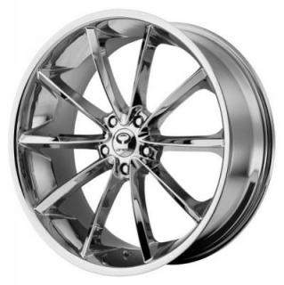 LORENZO WHEELS  WL032 CHROME RIM