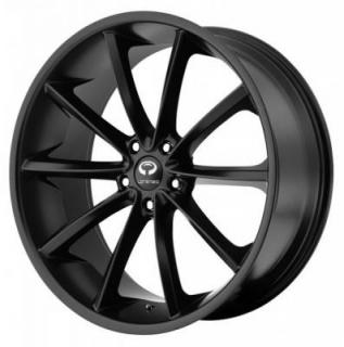 LORENZO WHEELS  WL032 SATIN BLACK RIM