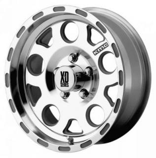 XD SERIES WHEELS  XD122 ENDURO MACHINED RIM with CLEAR COAT