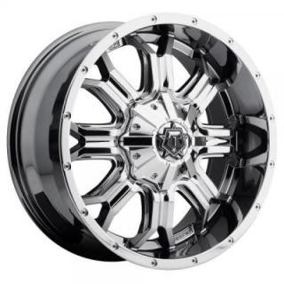 TIS WHEELS  535V BRIGHT PVD CHROME