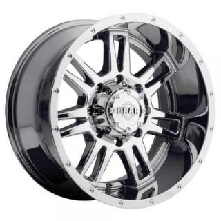 GEAR ALLOY WHEELS  737V CHALLENGER BRIGHT PVD CHROME