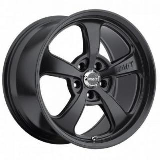 MICKEY THOMPSON WHEELS  STREET COMP SC-5 FLAT BLACK RIM