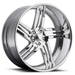 RACELINE WHEELS   MAJESTIC 5 POLISHED RIM
