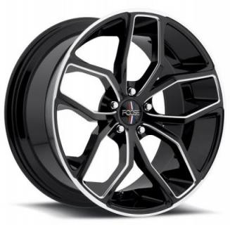 FOOSE WHEELS  OUTCAST F150 GLOSS BLACK RIM with MILLED ACCENTS