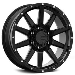 M15 GLOSS BLACK RIM from MAMBA OFFROAD WHEELS